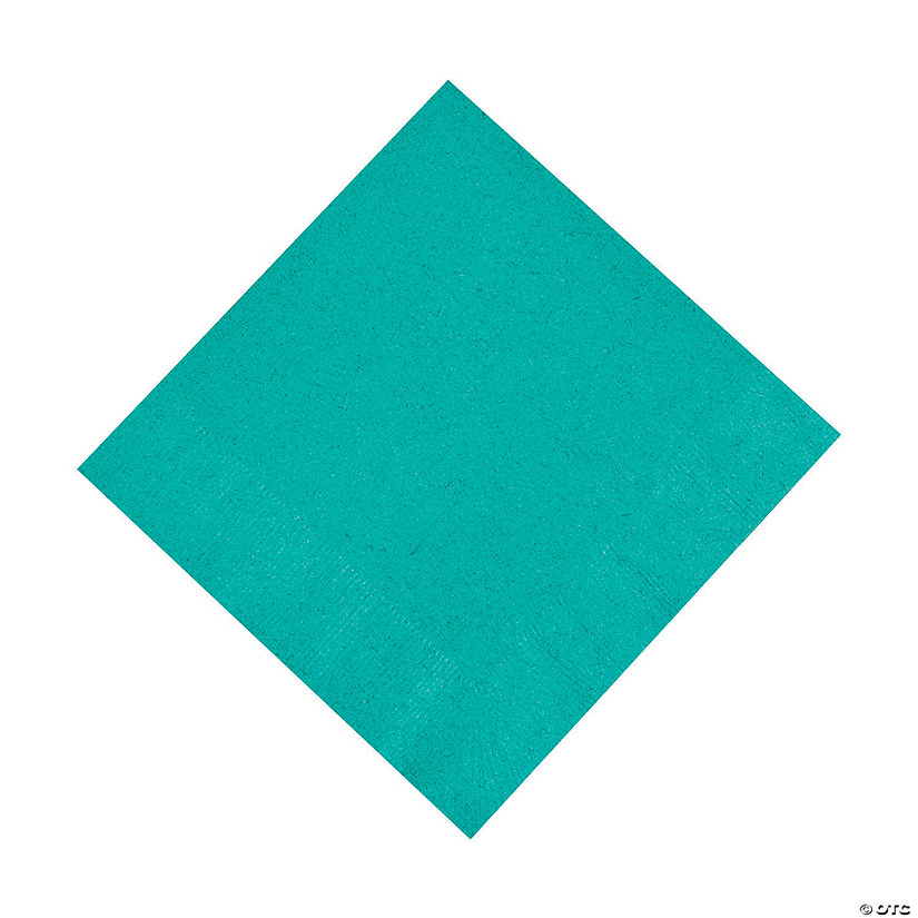 Teal Lagoon Luncheon Napkins Audio Thumbnail