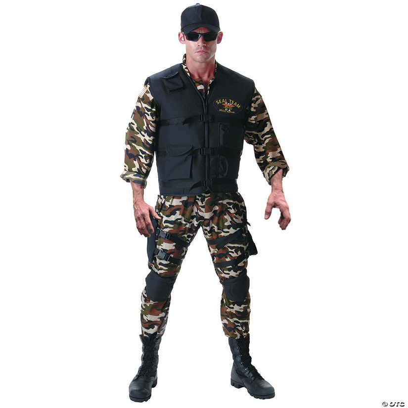 Teen Boy's Deluxe Seal Team Costume