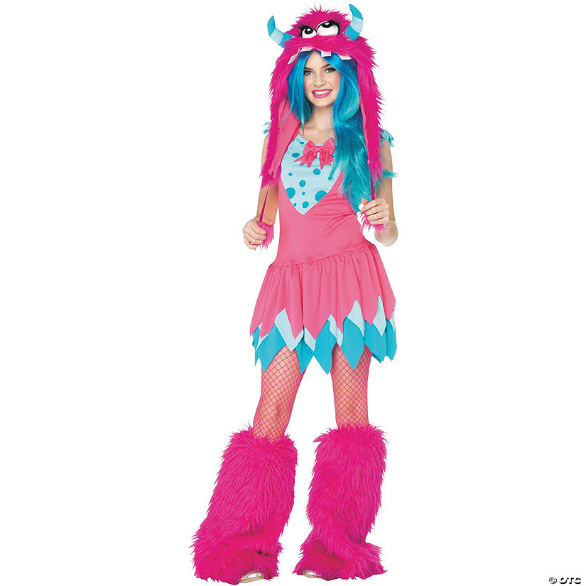 Teen Girl's Mischief Monster Costume