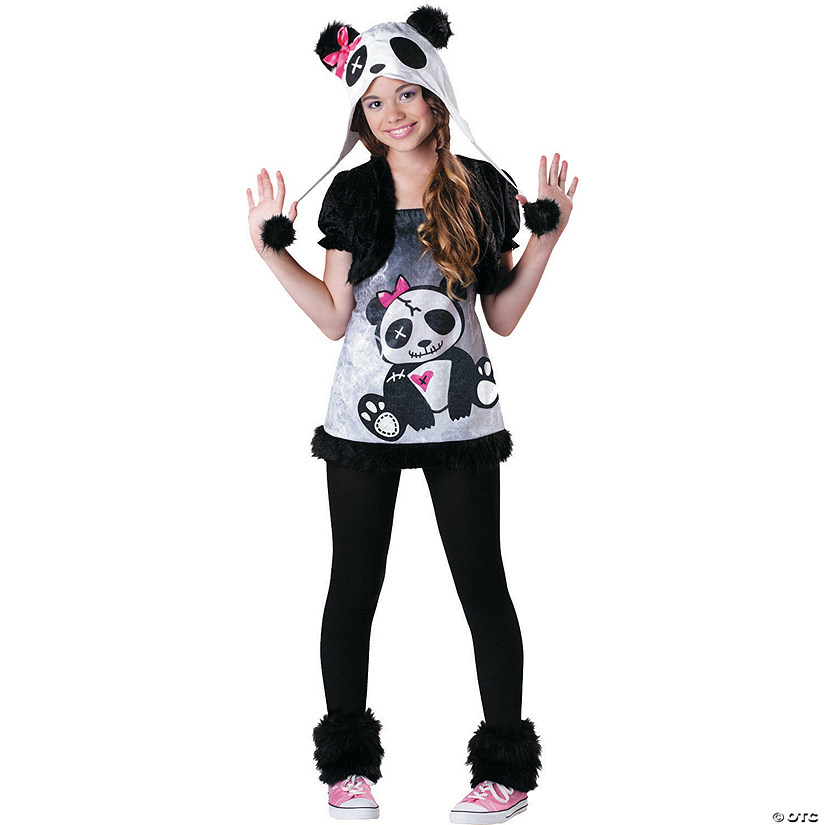 Teen Girl's Pandamonium Costume