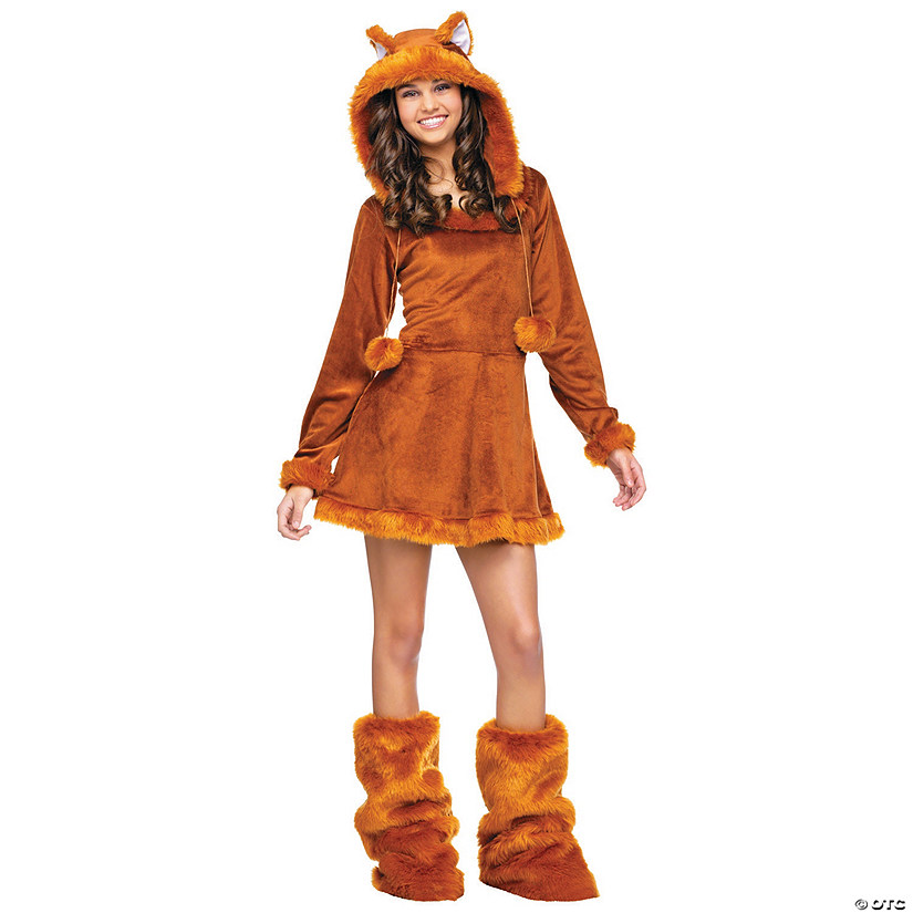 Teen Girl's Sweet Fox Costume