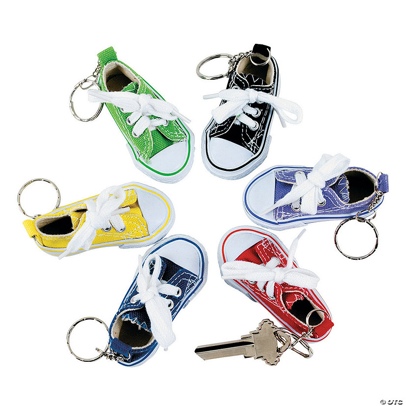 Tennis Shoe Keychains