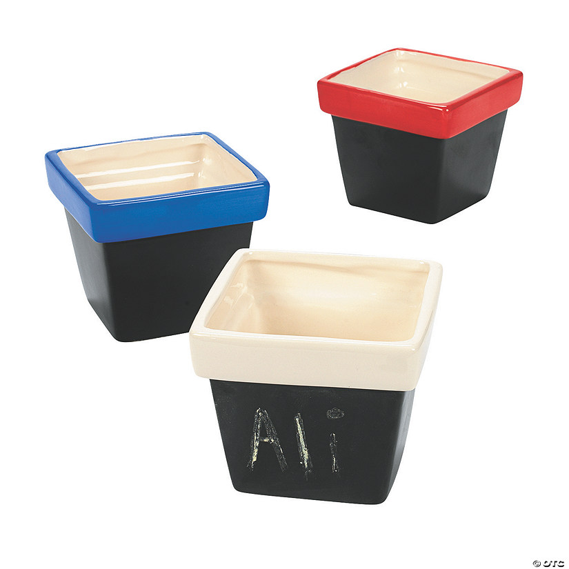 Terra Cotta Pots With Chalkboard Base Discontinued
