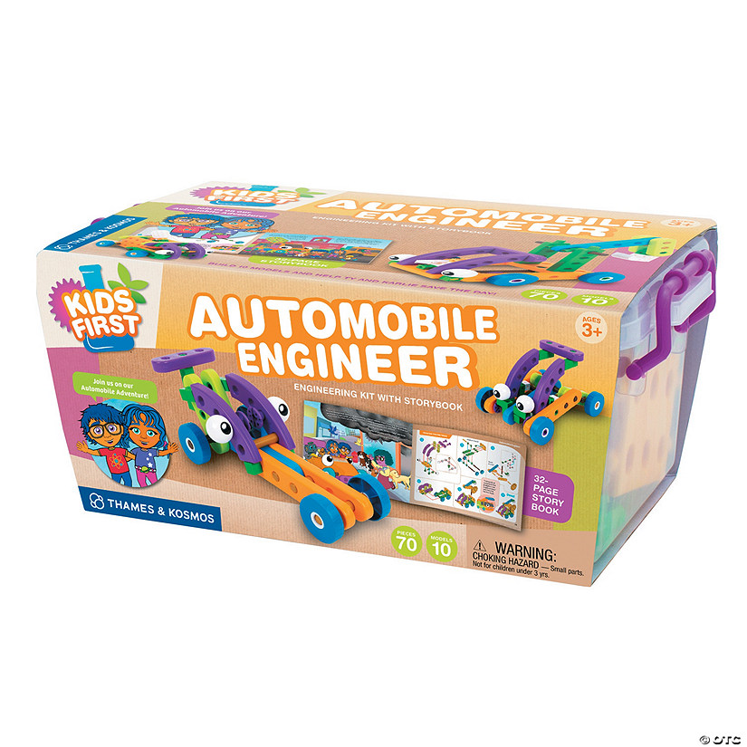 Thames & Kosmos Kids First Automobile Engineer Image Thumbnail