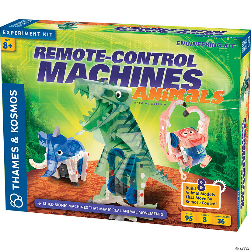Thames & Kosmos Remote Control Machines: Animals Image Thumbnail