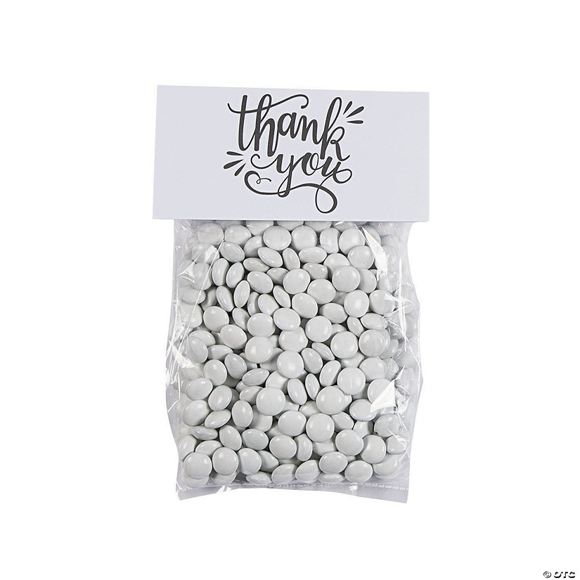Thank You Cellophane Treat Bags with Topper Audio Thumbnail
