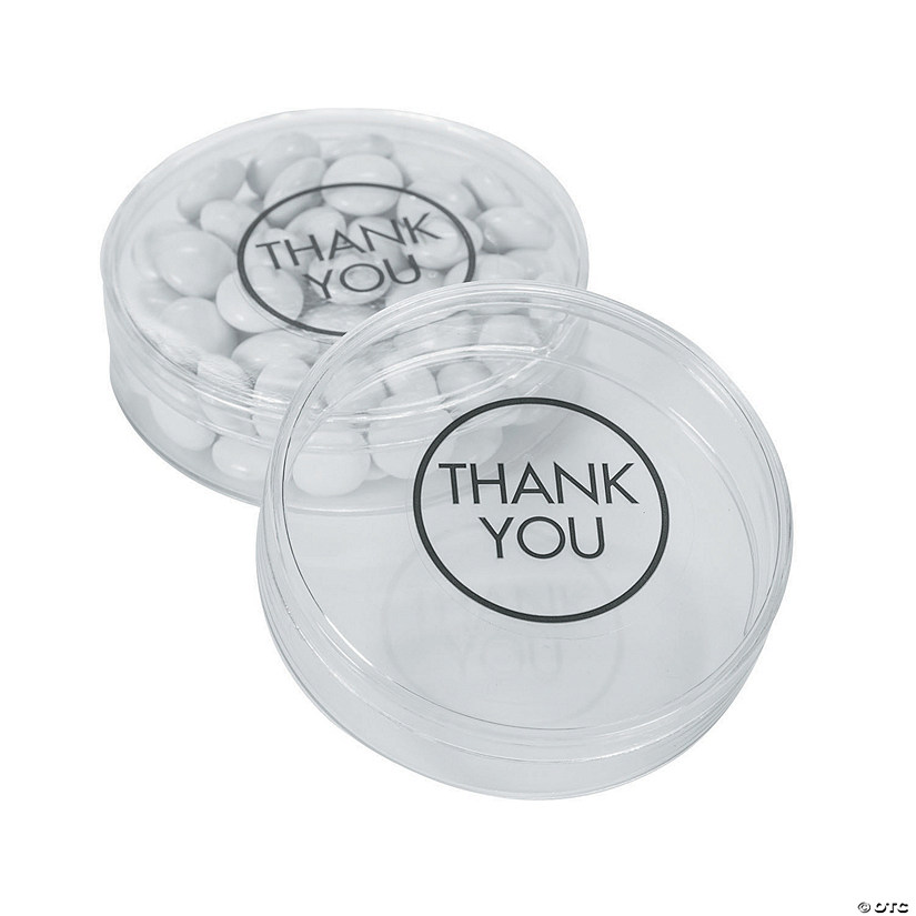 Thank You Round Favor Container Kit Audio Thumbnail