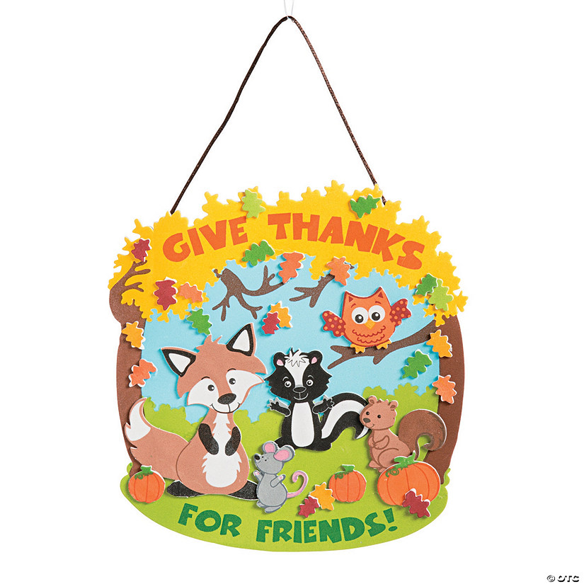 Thankful for Friends Sign Craft Kit