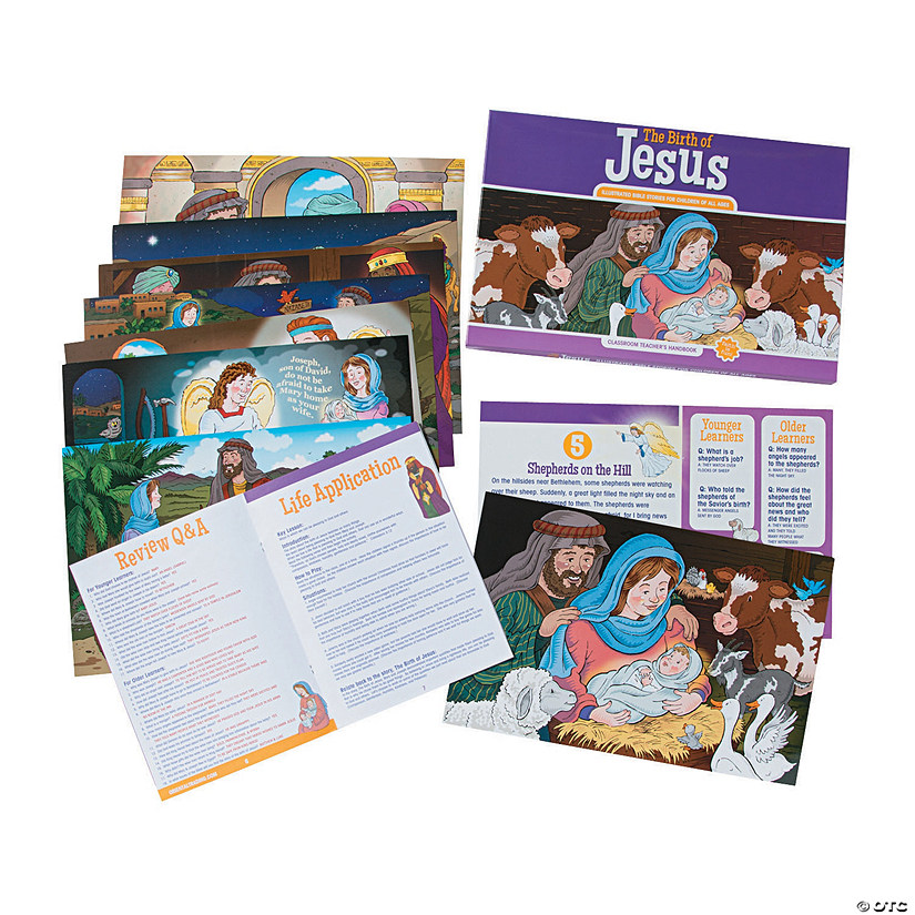 The Birth of Jesus Teacher Companion Image Thumbnail