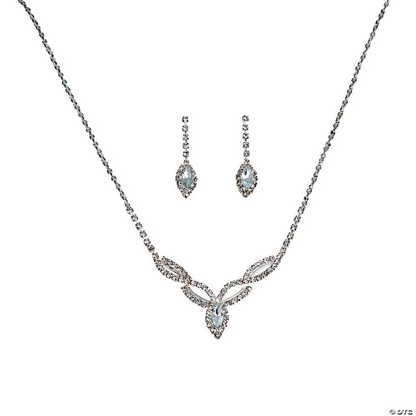 The Charlotte Rhinestone Jewelry Set
