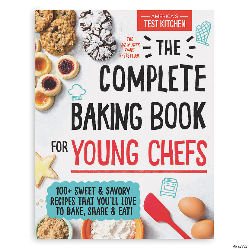 The Complete Baking Book for Young Chefs Image Thumbnail