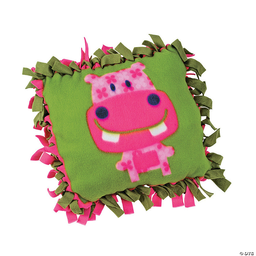 """The Critter Club"" Fleece Pillow Craft Kit Image Thumbnail"