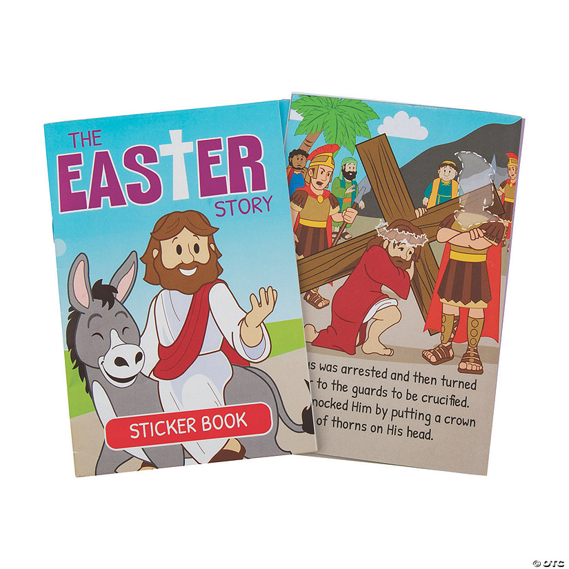 The Easter Story Sticker Books Image Thumbnail
