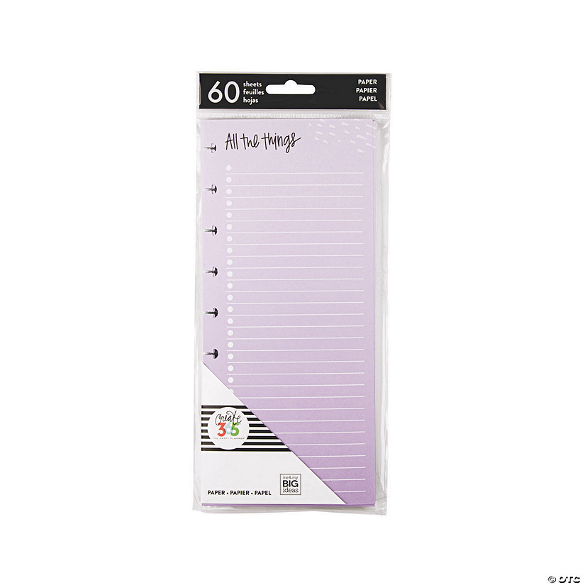 The Happy Planner<sup>&#174;</sup> Classic Colorful Filler Half Sheets Audio Thumbnail