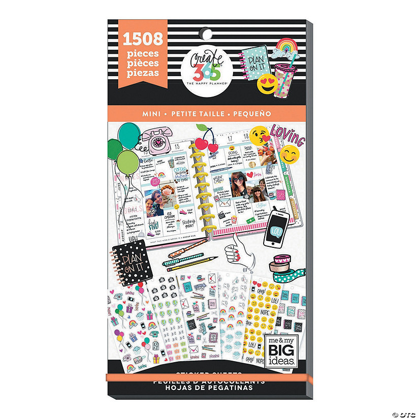 The Happy Planner<sup>&#174;</sup> Mini Icons Value Pack Stickers Audio Thumbnail