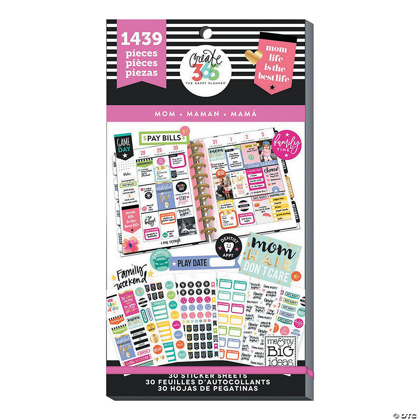 The Happy Planner® Mom Life Value Pack Stickers