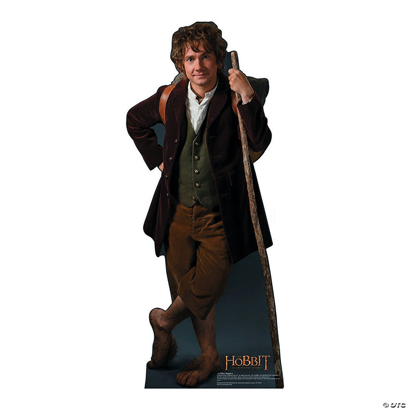 The Hobbit: Bilbo Baggins Cardboard Stand-Up