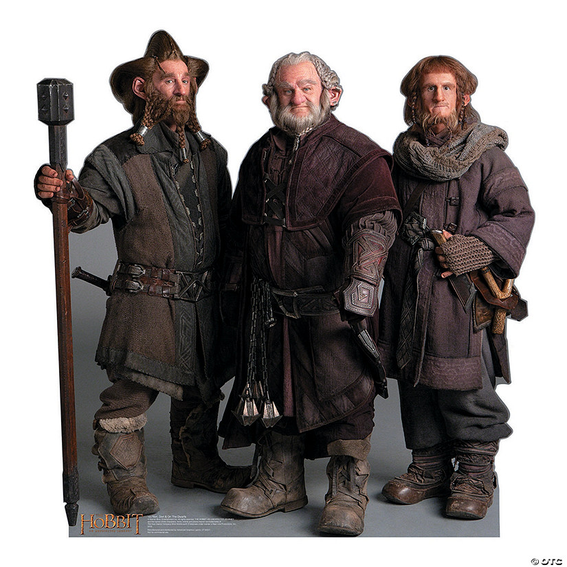 The Hobbit: Nori, Dori & Ori Cardboard Stand-Up