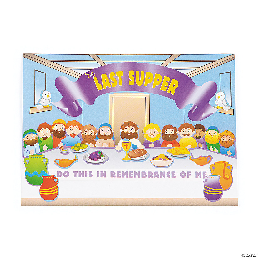 The Last Supper Mini Sticker Scenes Audio Thumbnail