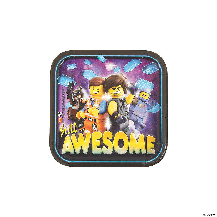 The LEGO Movie 2: The Second Act<sup>&#174;</sup> Paper Dessert Plates Audio Thumbnail