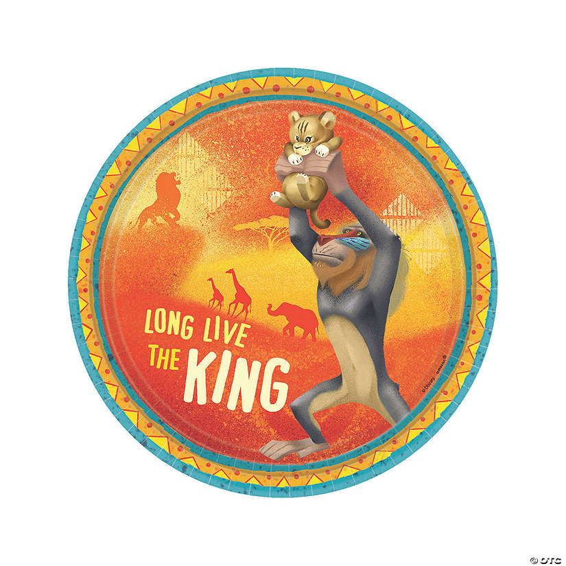 The Lion King™ Paper Dessert Plates - 8 Ct. Audio Thumbnail