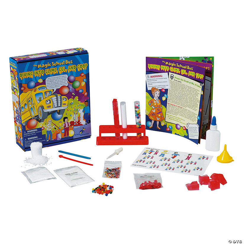 The Magic School Bus™: Diving Into Slime, Gel & Goop Boredom Buster Kit Image Thumbnail