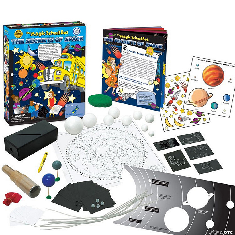 The Magic School Bus™: The Secrets of Space At-Home Learning Kit Image Thumbnail