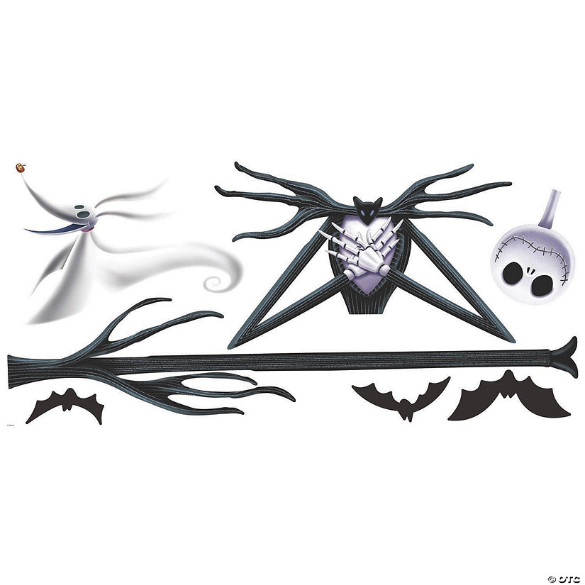 The Nightmare Before Christmas Jack Skellington Decal Image Thumbnail