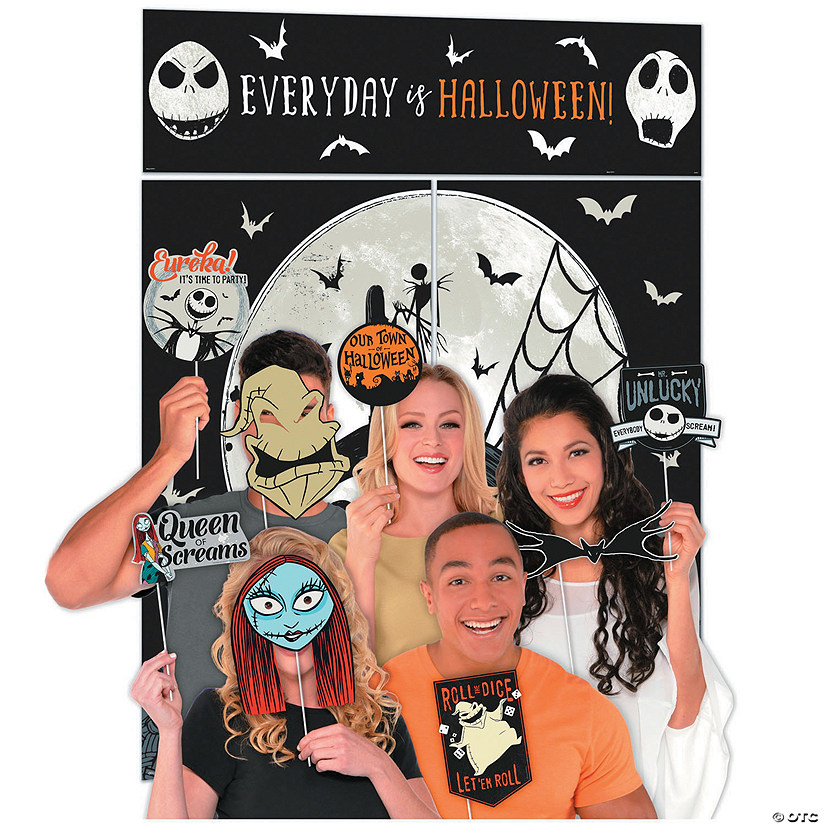 The Nightmare Before Christmas Photo Photo Booth Kit Image Thumbnail