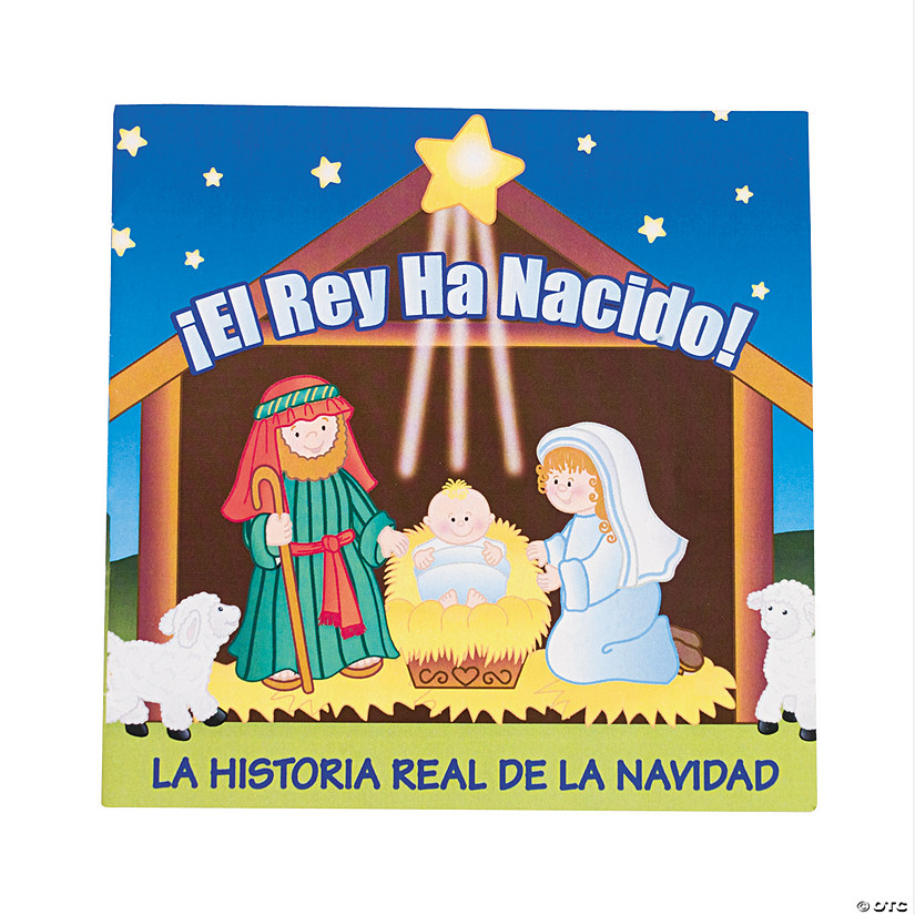 the real story of christmas spanish readers - Christmas Spanish