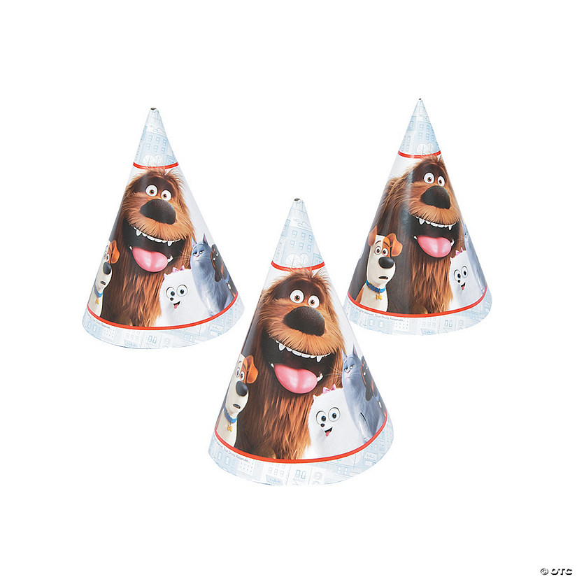 The Secret Life of Pets Party Hats