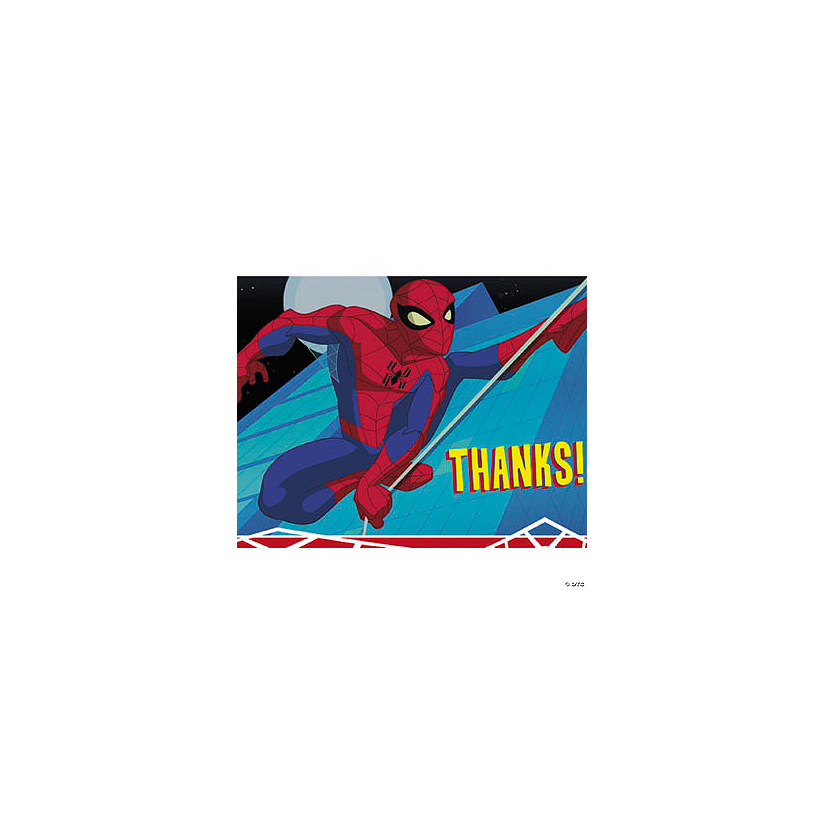 The Spectacular Spider Man Thank You Cards Discontinued
