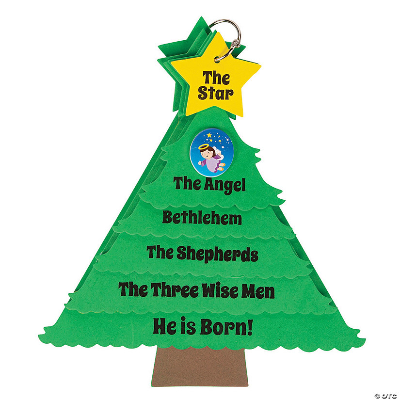 The Story of Jesus Christmas Tree Craft Kit Audio Thumbnail