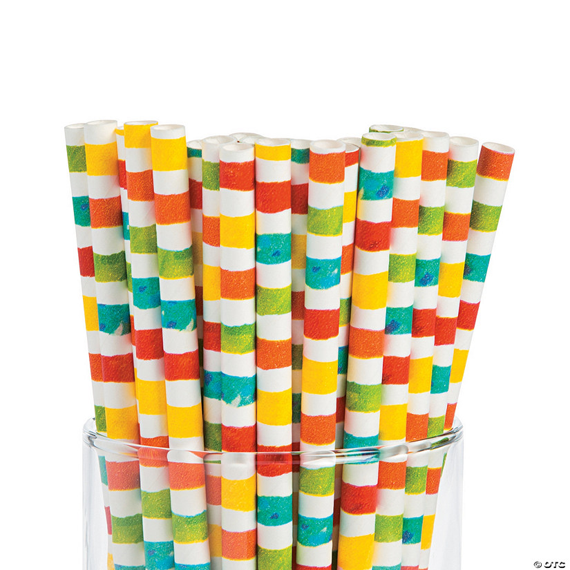 The Very Hungry Caterpillar™ Paper Straws Image Thumbnail