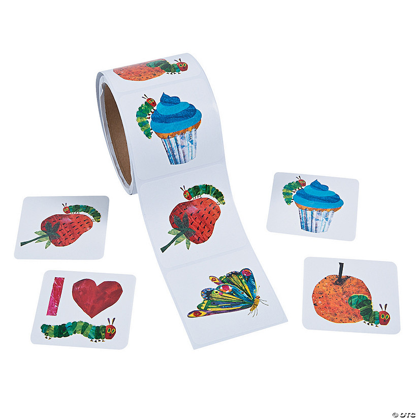 The Very Hungry Caterpillar™ Roll Stickers Audio Thumbnail