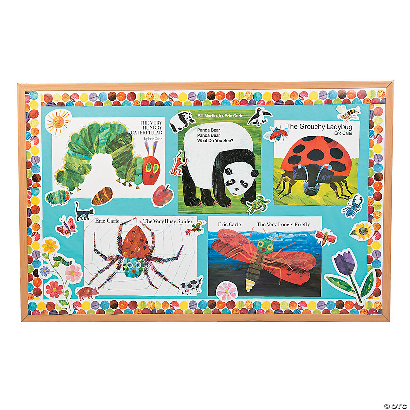The World of Eric Carle™ Books Bulletin Board Set Audio Thumbnail