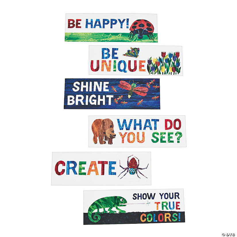 The World of Eric Carle™ Motivational Bookmark Assortment Audio Thumbnail