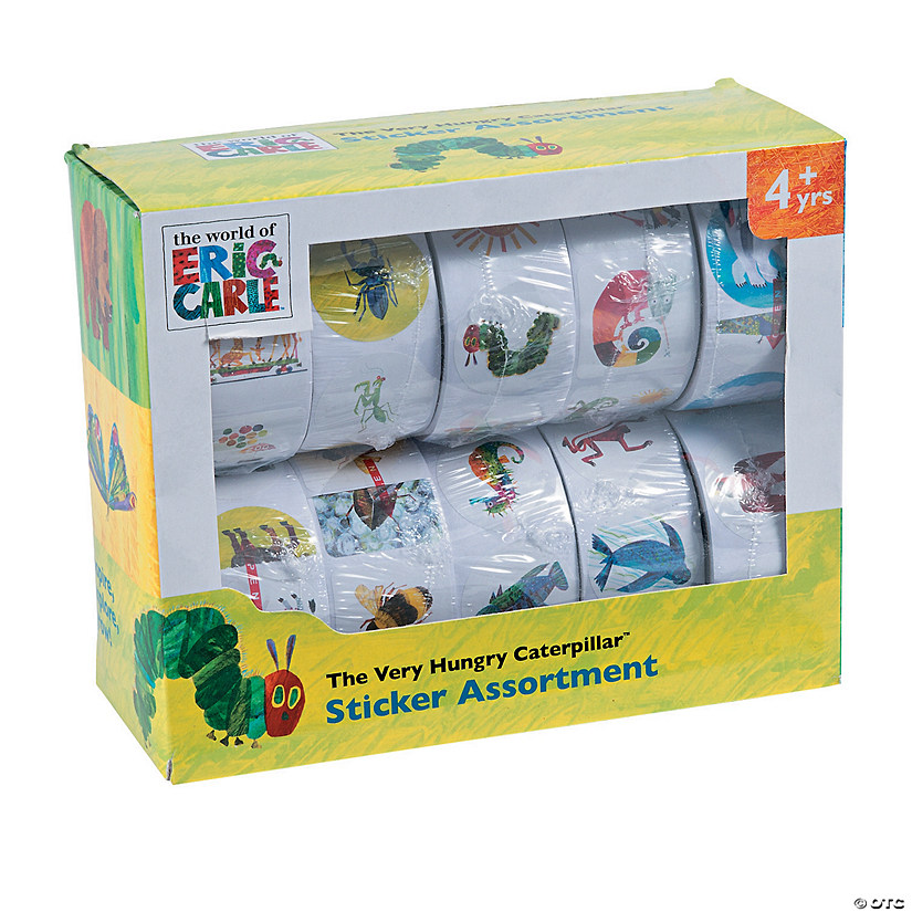 The World of Eric Carle™ Sticker Assortment Audio Thumbnail