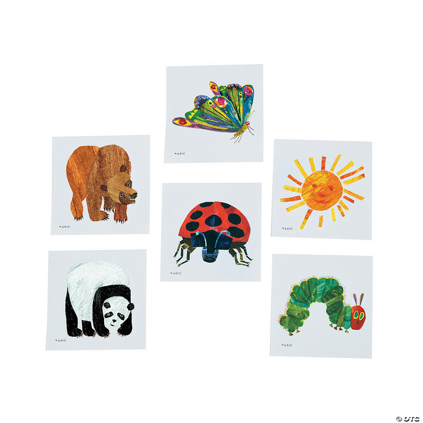 The World of Eric Carle™ Temporary Tattoo Assortment Audio Thumbnail