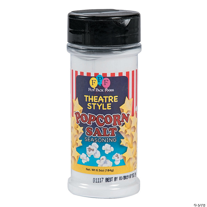 Theatre Style Popcorn Salt Seasoning Audio Thumbnail