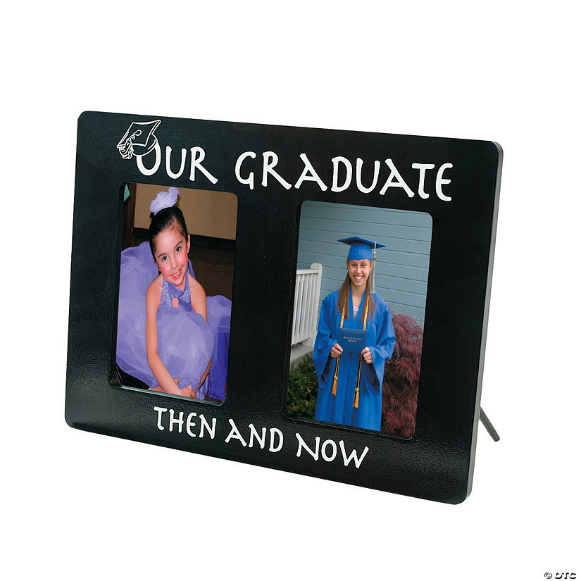 Then And Now Graduation Picture Frame Audio Thumbnail