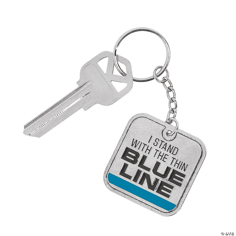 Thin Blue Line Keychains Image Thumbnail
