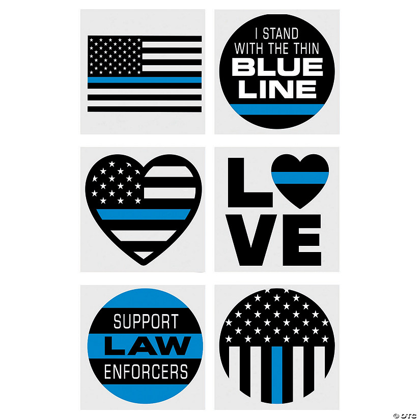 Thin Blue Line Temporary Tattoos Audio Thumbnail