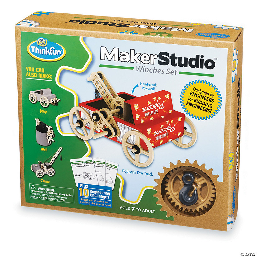 ThinkFun Maker Studio Winches Set