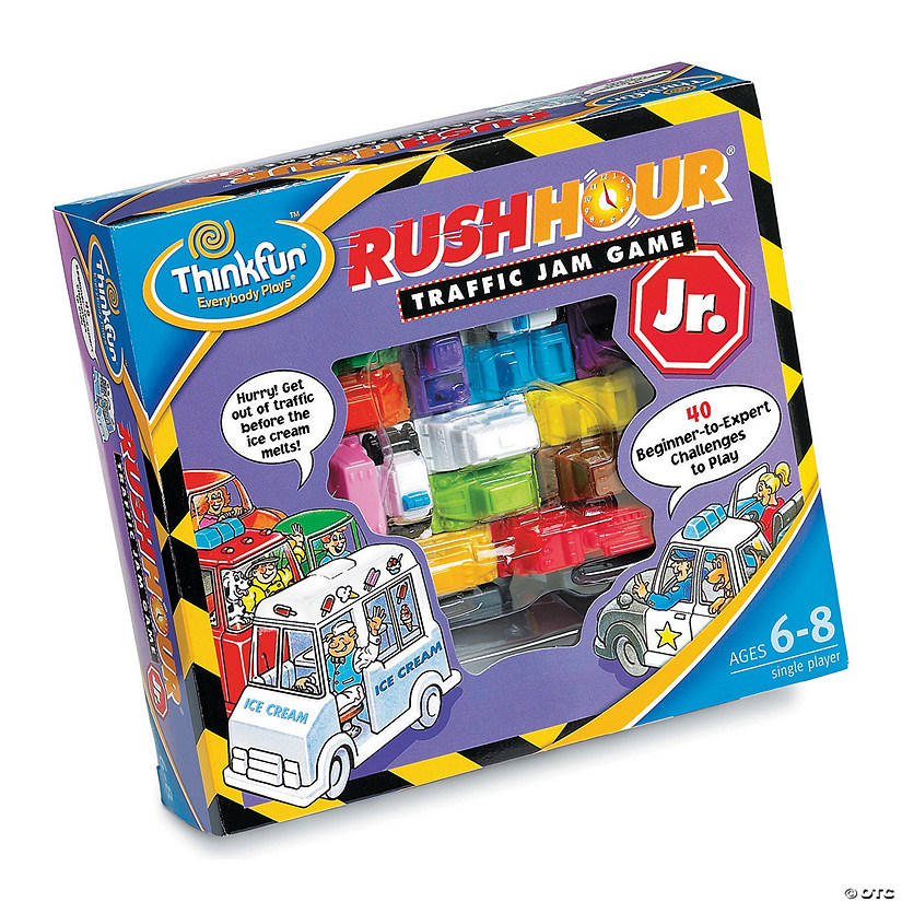 ThinkFun Rush Hour Junior Image Thumbnail