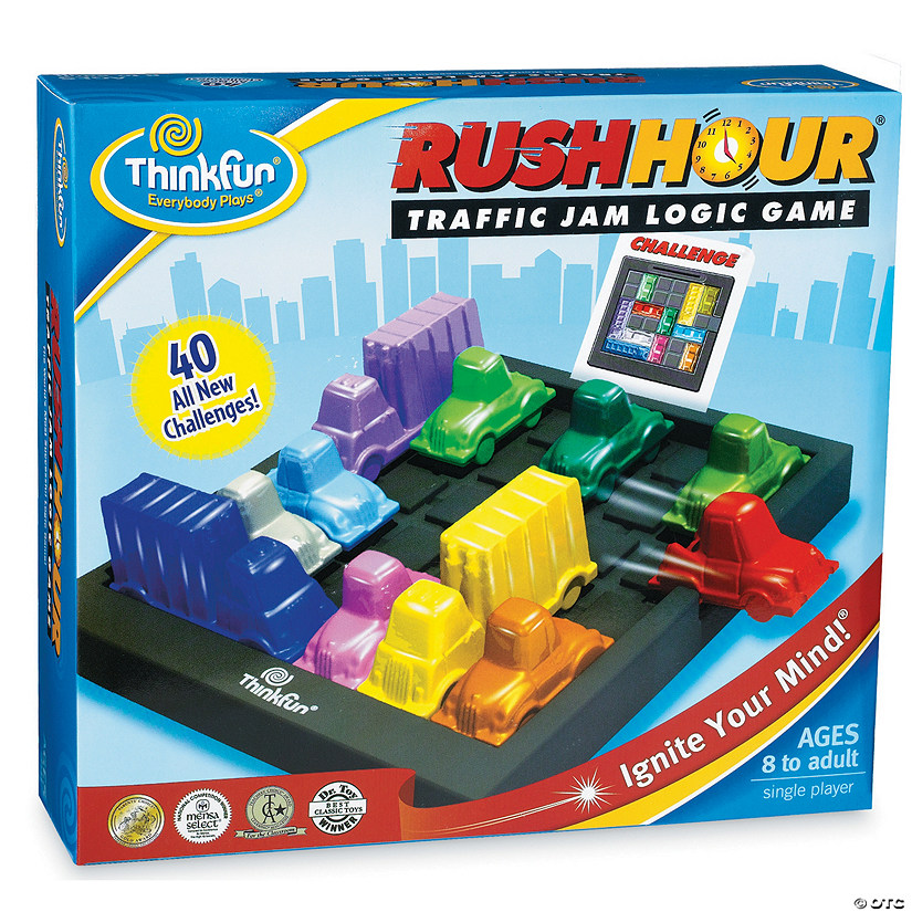 ThinkFun Rush Hour Image Thumbnail