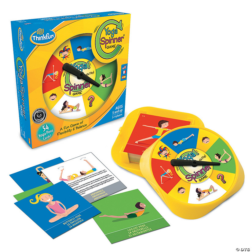 ThinkFun Yoga Spinner Game Image Thumbnail