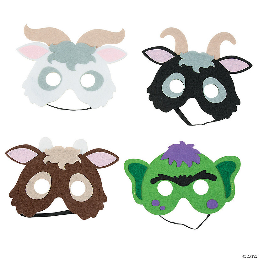Three Billy Goats Gruff Masks Audio Thumbnail