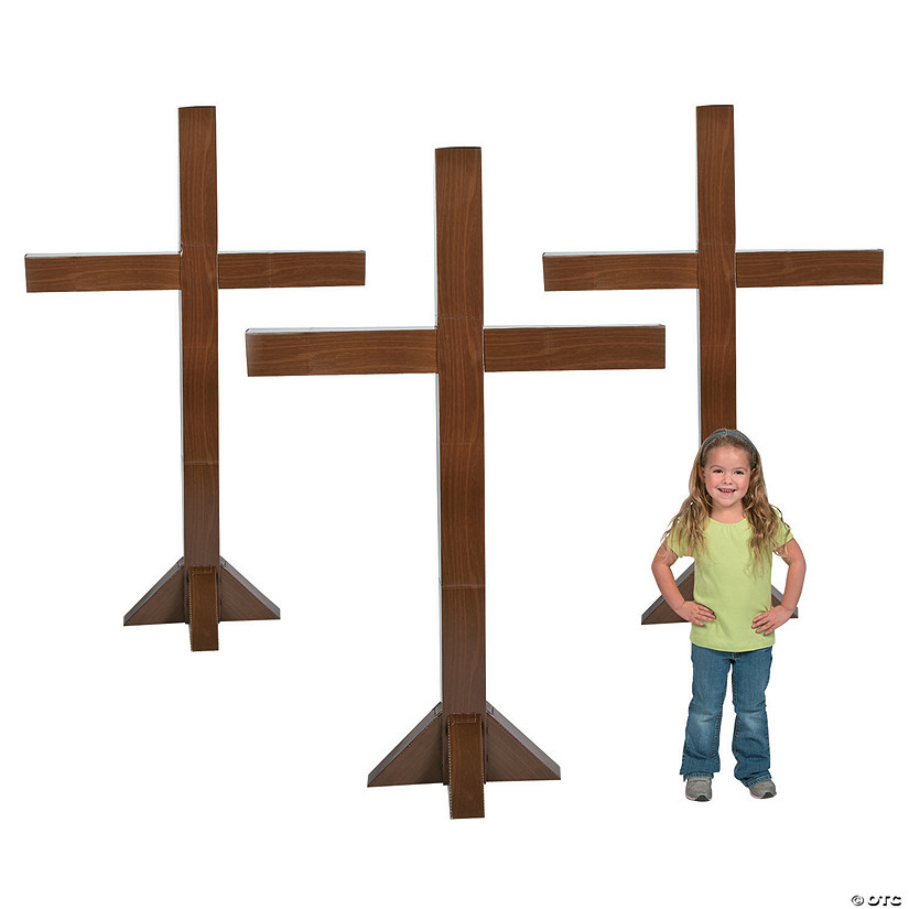 Three Crosses Cardboard Stand-Ups Audio Thumbnail