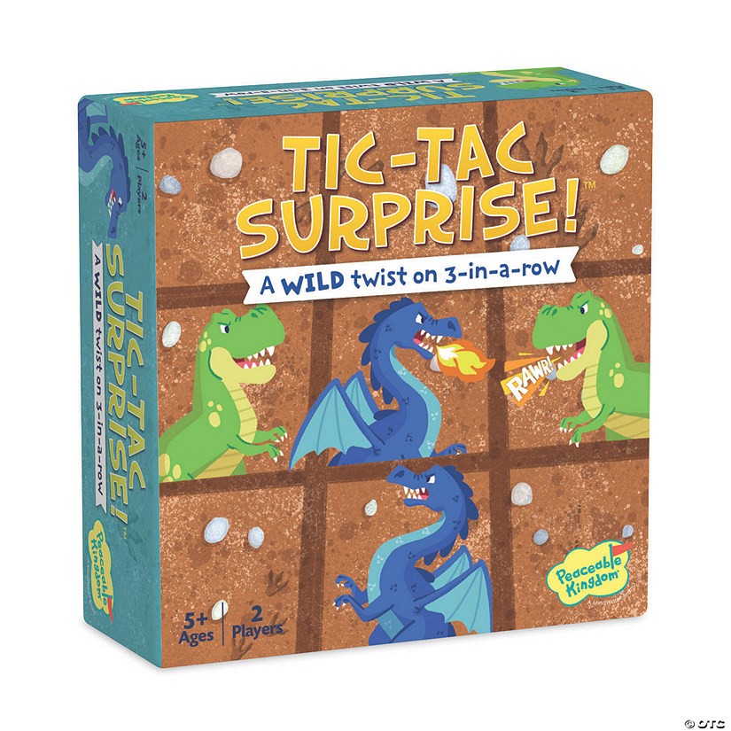 Tic Tac Surprise: Dragons vs. Dinosaurs Audio Thumbnail